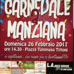 Carnevale a Manziana 2017