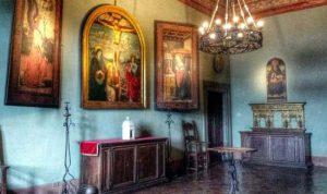 Castello di Bracciano: Sala del Trittico