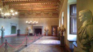 Castello di Bracciano: sala dei Cesari