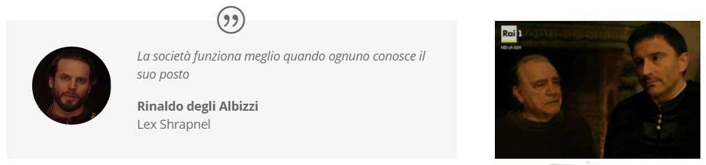 il pensiero di Rinaldo Albizzi