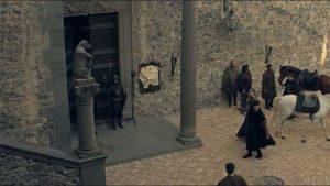 i Medici serie tv: il castello di Bracciano è la location di Volterra