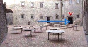 """""""I Medici"""" s01e08: il set della Firenze in notturna"""