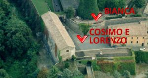 dove sono state girate le scene finali della prima puntata de I Medici