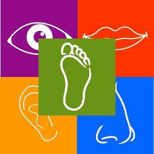 Logo del Parco dei 5 sensi di Vitorchiano