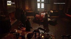 I Medici trattano on Baldassarre Cossa nella Sala della Scienza