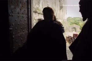 """""""I Medici"""" s01e01: l'ingresso di palazzo Cossa è l'ingresso del castello di Bracciano"""
