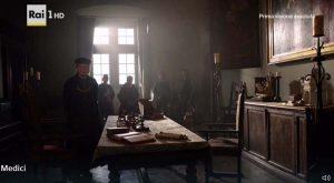 """""""I Medici"""" s01e02: Medici e Bardi negoziano il matrimonio tra Cosimo e Contessina"""