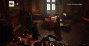 Medici filming location: Sala delle scienze nel castello di Bracciano