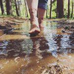 Percorso nel fango del parco dei 5 sensi