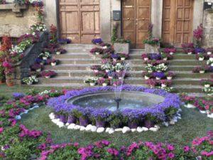 Addobbi per San Pellegrino in Fiore a Viterbo