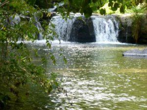 scopri le cascate di Monte Gelato lungo il fiume Treja