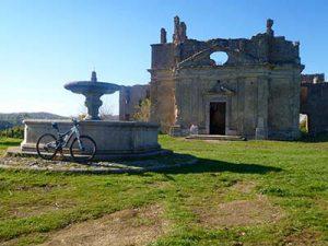 cicloturismo in mtb nel parco regionale di Monterano