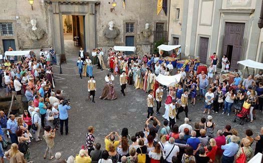 Festa seicentesca a Bassano Romano