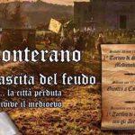 banner dell'evento medievale la rinascita del feudo