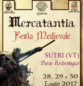 locandina di Mercatantia la festa medievale di Sutri