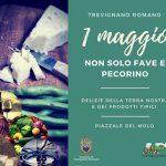 1° maggio a Trevignano Romano con non solo fave e pecorino
