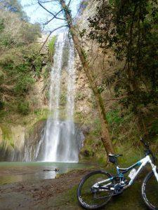 Tour i MTB alle cascate di Castel Giuliano a Bracciano