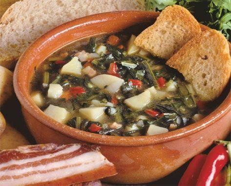 l'acquacotta preparata secondo la tradizione dei butteri di Canale Monterano