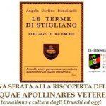 conferenza della Forum Clodii a Stigliano intitolata: Aquae Apollinares Veteres: termalismo e cultura dagli Etruschi a oggi