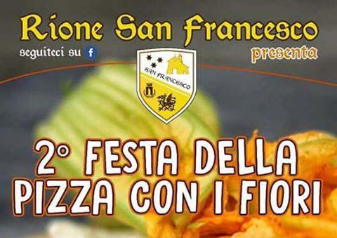 Festa della pizza con i fiori del rione San Francesca di Anguillara Sabazia
