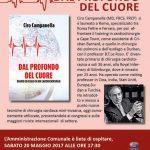 locandina della presentazione del libro di Ciro Campanella a Bracciano