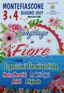 locandina di Lungolago in fiore a Montefiascone il 3 e 4 giugno 2017