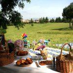 picnic del 2 giugno nelle campagne del Lazio
