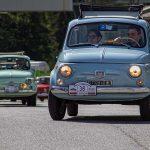Raduno delle Fiat 500 a Bassano Romano