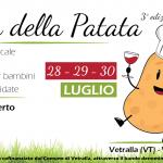 Festa della patata 2017 a Vetralla: PROGRAMMA e MENU