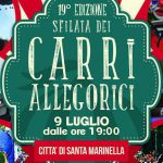 promo dei carri allegorici a Santa Marinella