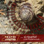 logo di Teatri di Pietra 2017, la rete dei teatri antichi