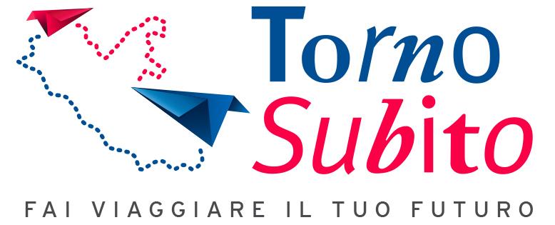 logo del progetto torno subito della Regione Lazio