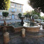 la fontana di piazza Tittoni a Manziana