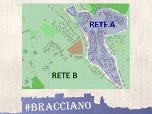 la divisione topografica tra Visit Bracciano e Vedo Chiaro