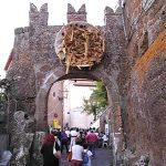 Civitella Cesi durante la Sagra delle Fettuccine al Tartufo