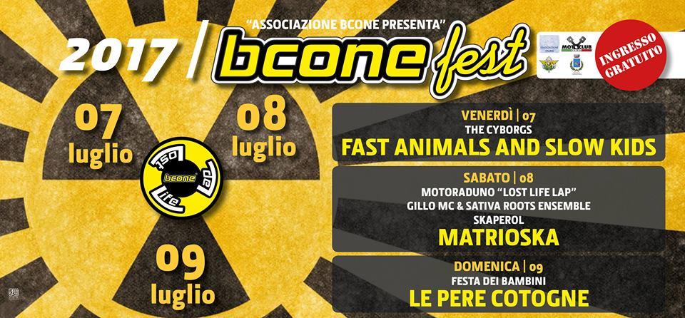 il programma di bcone fest 2017