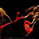 esibizione teatrale durante il festival Di voci e di suoni a Caprarola