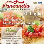 locandina della sagra della Panzanella 2017 a Capranica