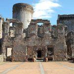 la rocca dei Borgia di Nepi usata come teatro