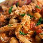 piatto di trippa cucinata alla romana