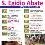 programma della festa per Sant'Egidio a Tolfa 2017
