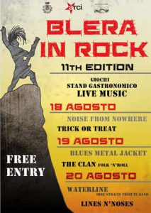 locandina del Blera in Rock 2017