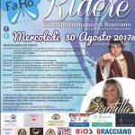 Ti Fa.Ro. Ridere: cabaret e beneficienza a Bracciano, 30 agosto 2017