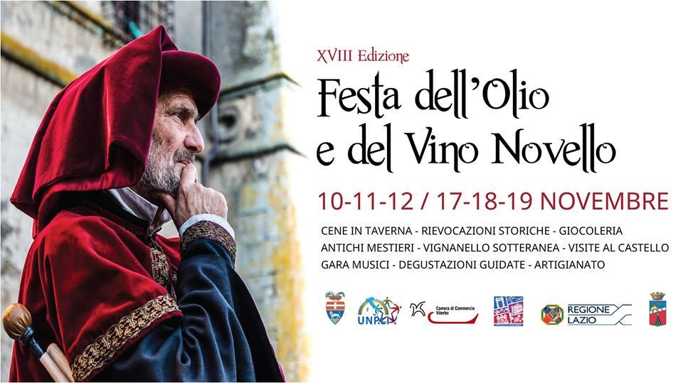 La festa dell'olio e del vino di Vignanello
