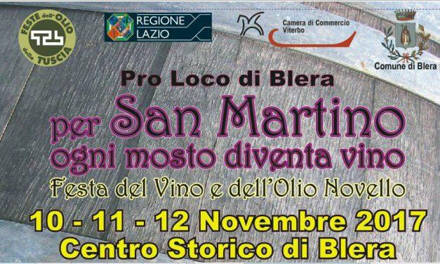 Festa de vino e dell'olio novello a Blera: a San Martino ogni mosto è vino!
