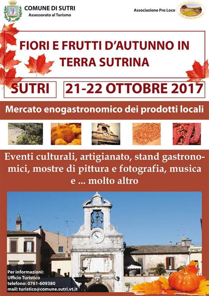 Fiori e frutti d 39 autunno in terra sutrina il mercato for Mostre mercato fiori 2017