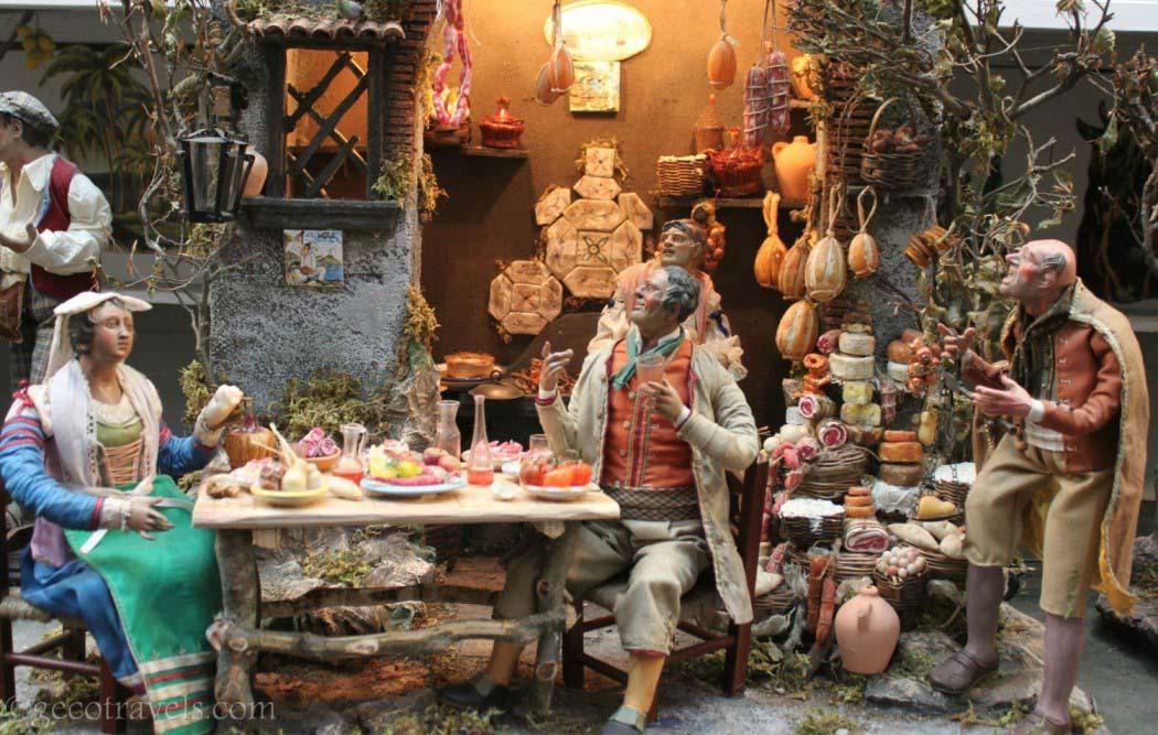 I Presepi di San Gregorio Armeno in mostra a Oriolo Romano (Natale 2018)