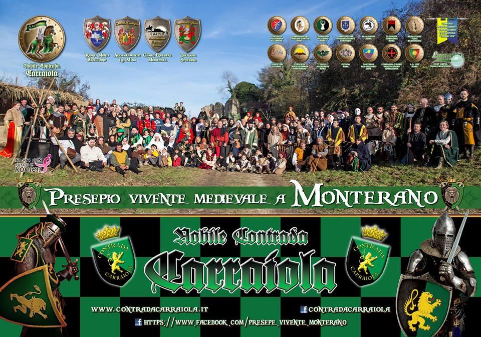 Presepe Vivente Monterano 2018