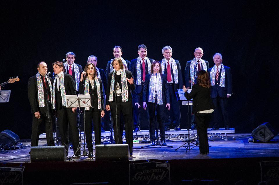 un concerto gospel del St John Singers Choir