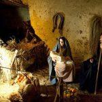 la natività nel presepe vivente di Caprarola